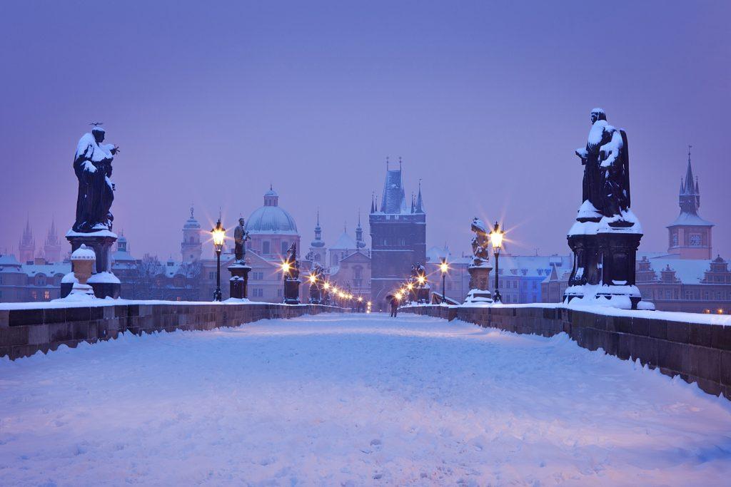 Best European cities to visit in winter Prague