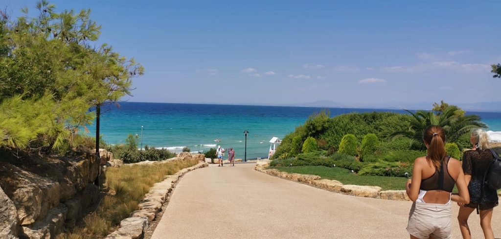 Vacation in Hanioti