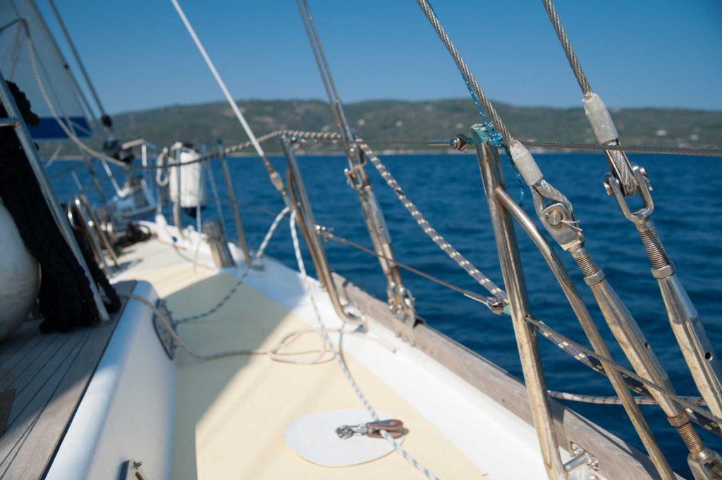 Hanioti sailing boat