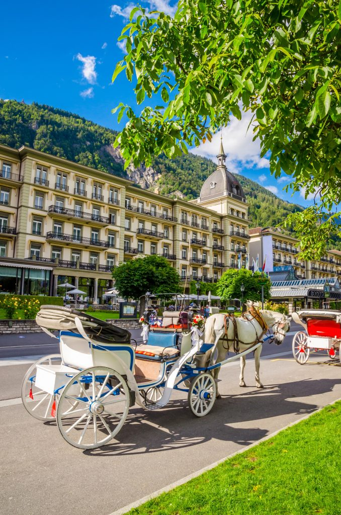 Horse carriage Interlaken