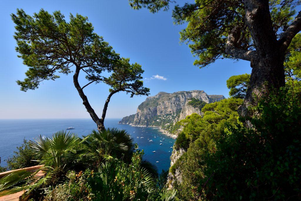 Belvedere din Tragara Capri Italy