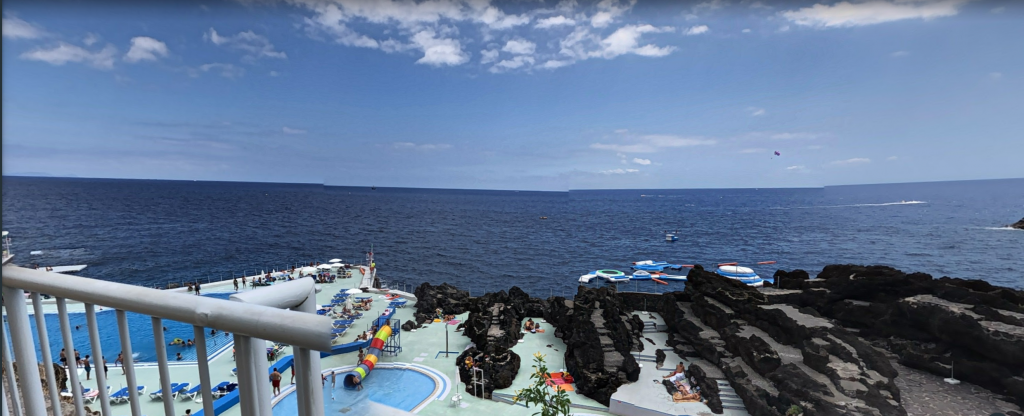 Madeira weather perfect in Lido pools