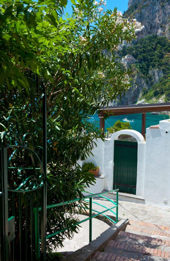 Marina Piccola Capri island