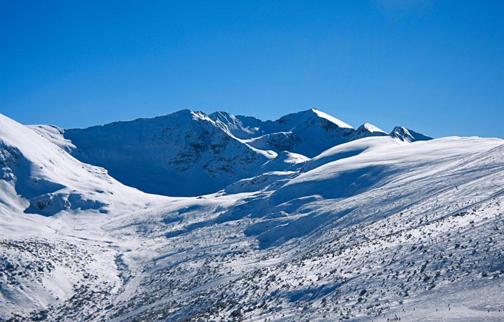 Rila Mountains in Borovets Bulgaria