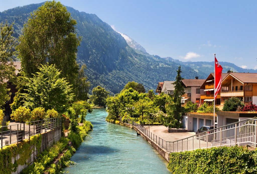 River in Interlaken