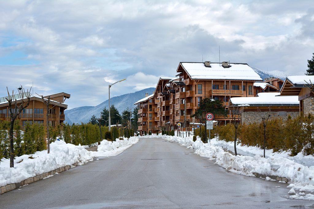 Pirin station in Bansko ski resort