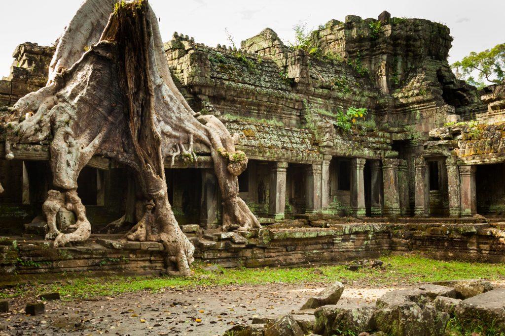 Preah Khan temple Angkor wat