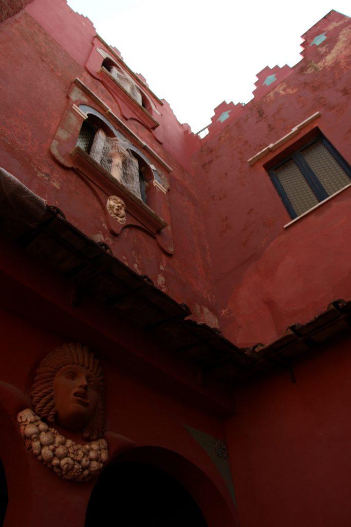 Red House in Capri Italy