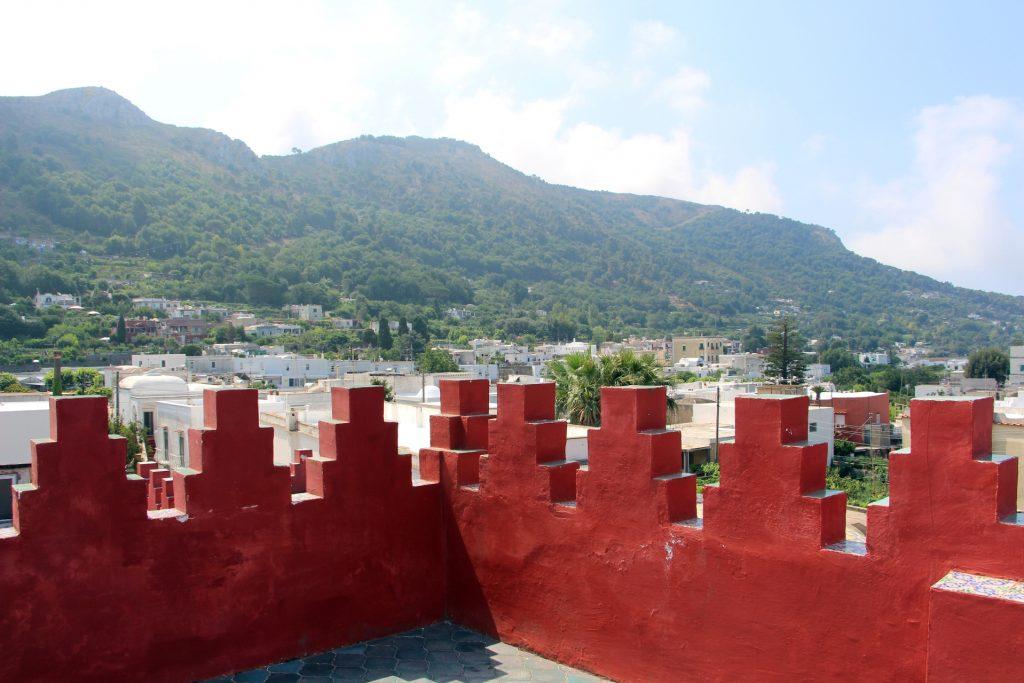 Capri view from Casa Rossa