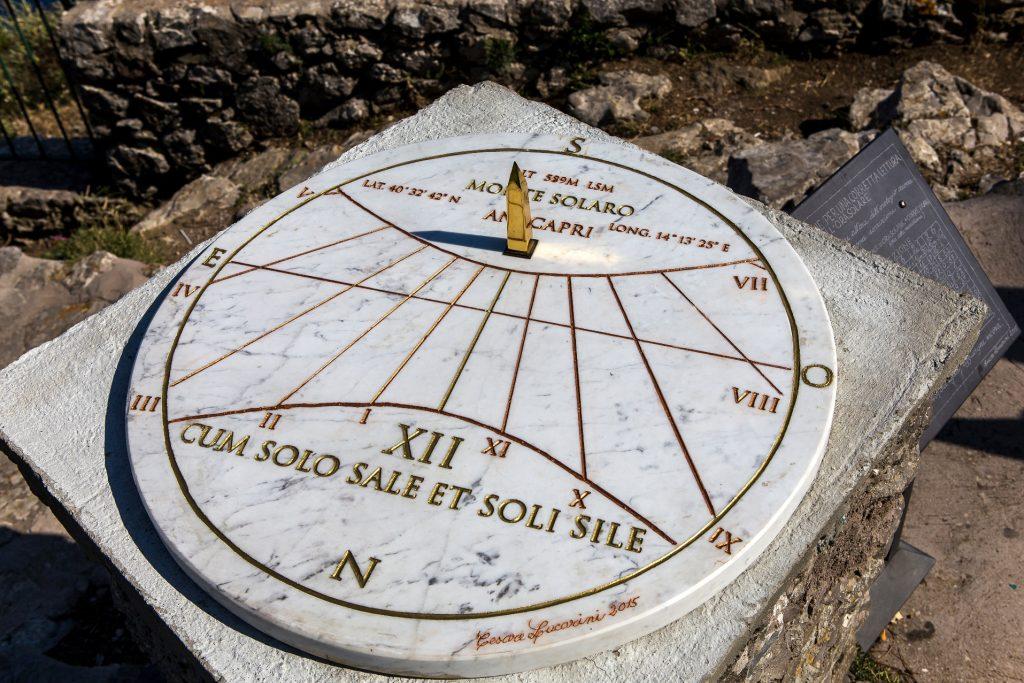 Solar watch in Capri Italy