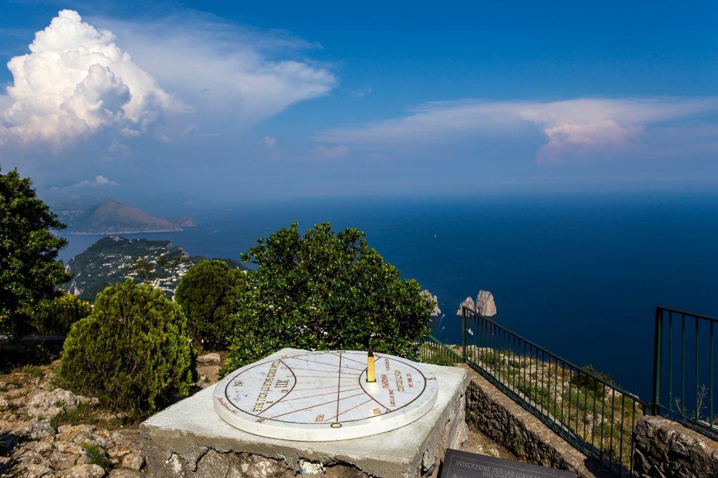 Solar watch panoramic view of Capri