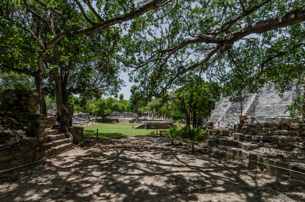 Ancient sites in Cancun