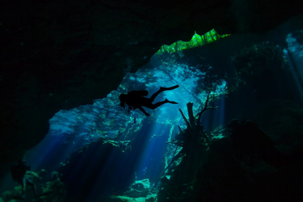 Cenote visiting Cancun