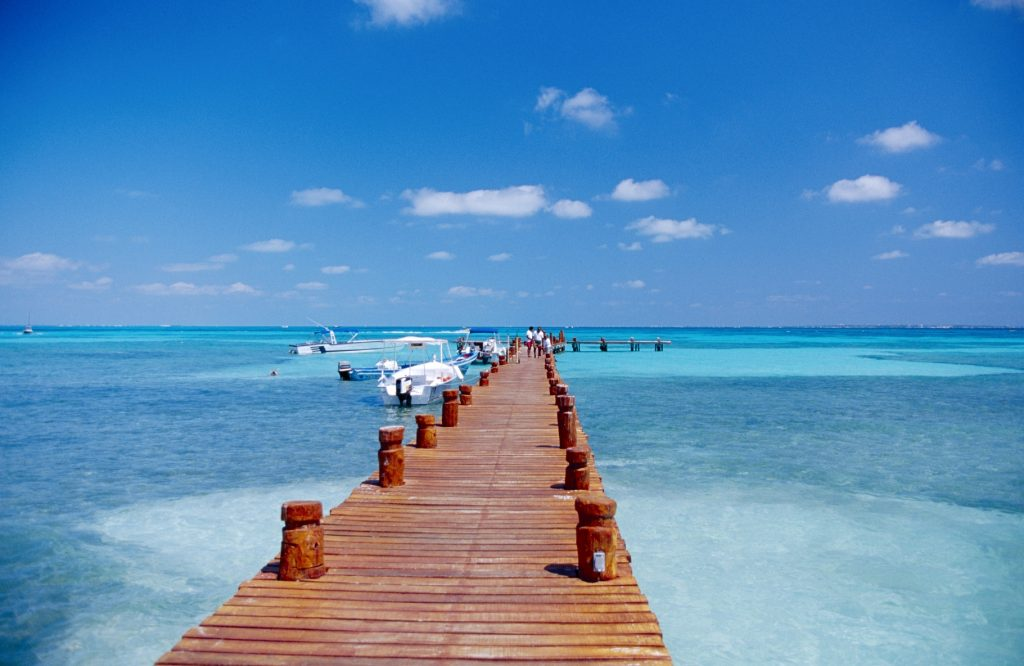 Pier-in-Cancun-Mexico