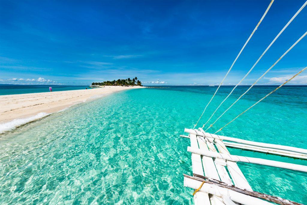 Tropical beach in Malapascua
