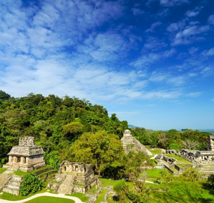 Palenque View chiapos destinations