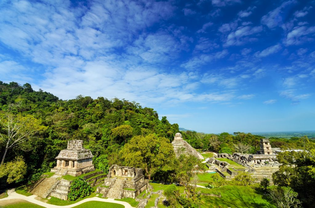 Chiapas Destinations Palenque Ruins