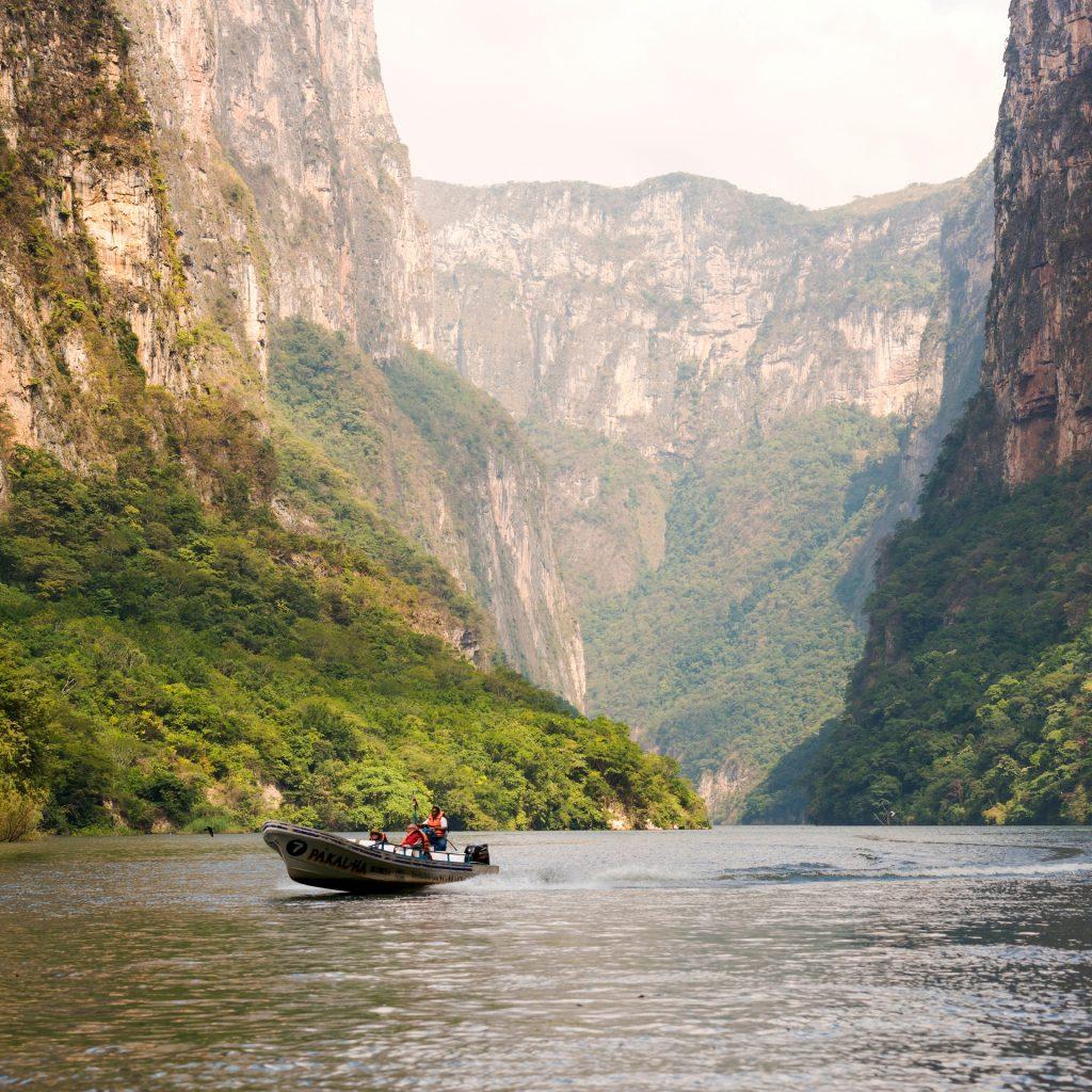 Chiapas Destinations Sumidero Canyon