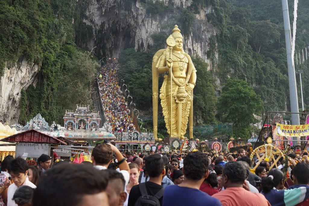 Batu Caves Entrance in Kuala Lumpur