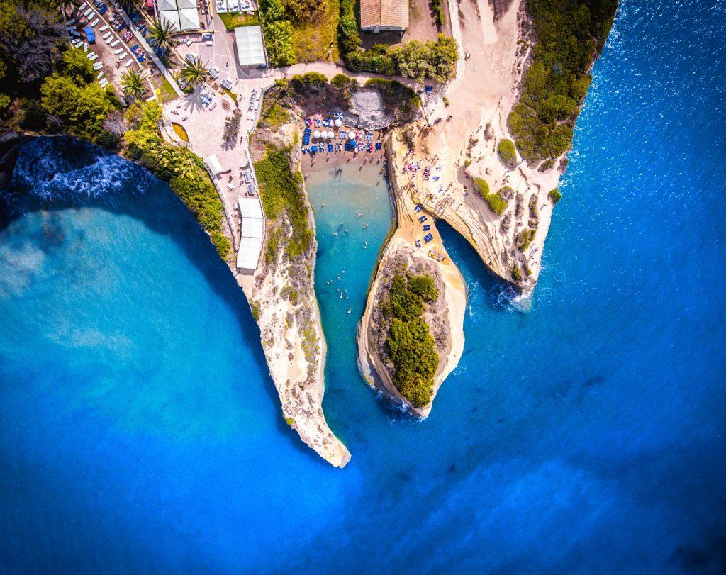Corfu Popular Destinations Canal d'Amour corfu