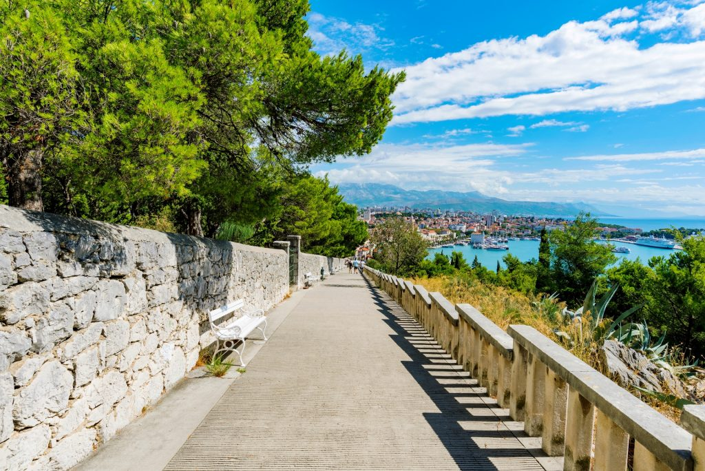 things to do in Split see Marjan Hill