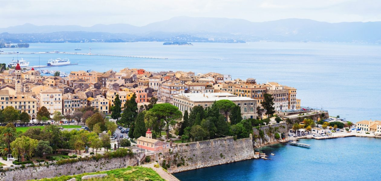 Corfu popular destinations