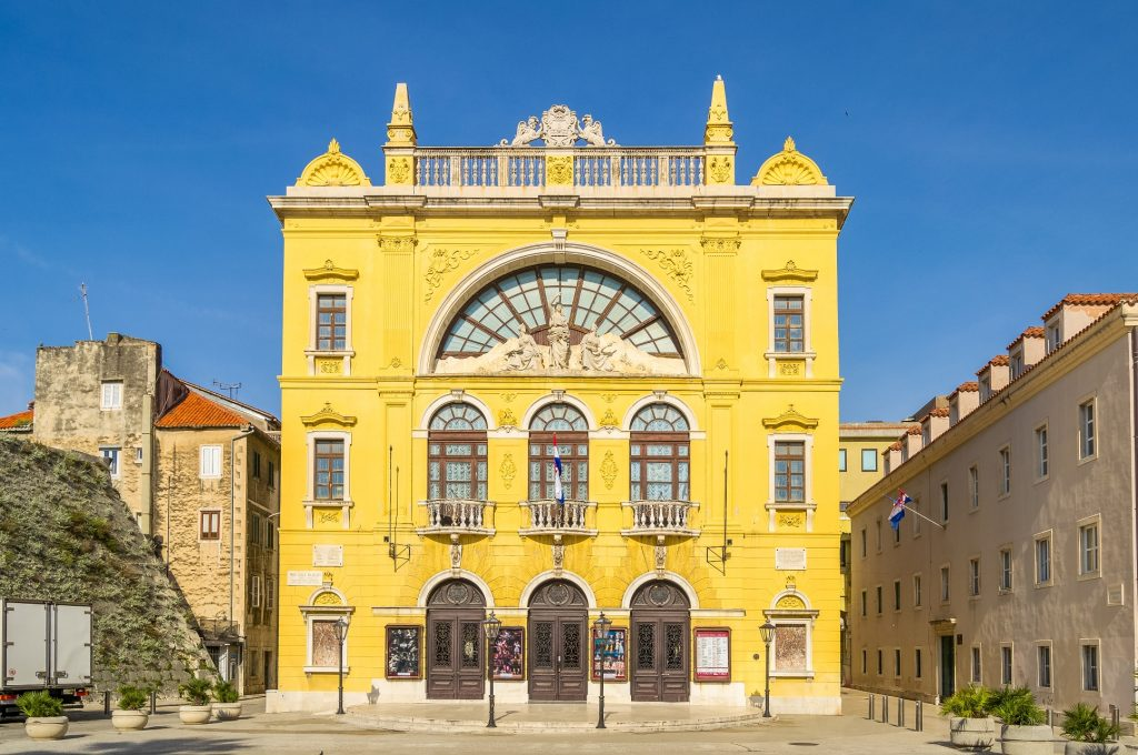 Things to do in Split Croatian National Theater