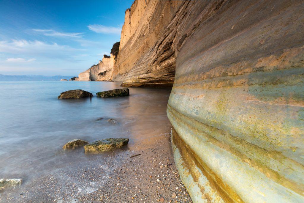 Corfu Popular Destinations Loggas Beach