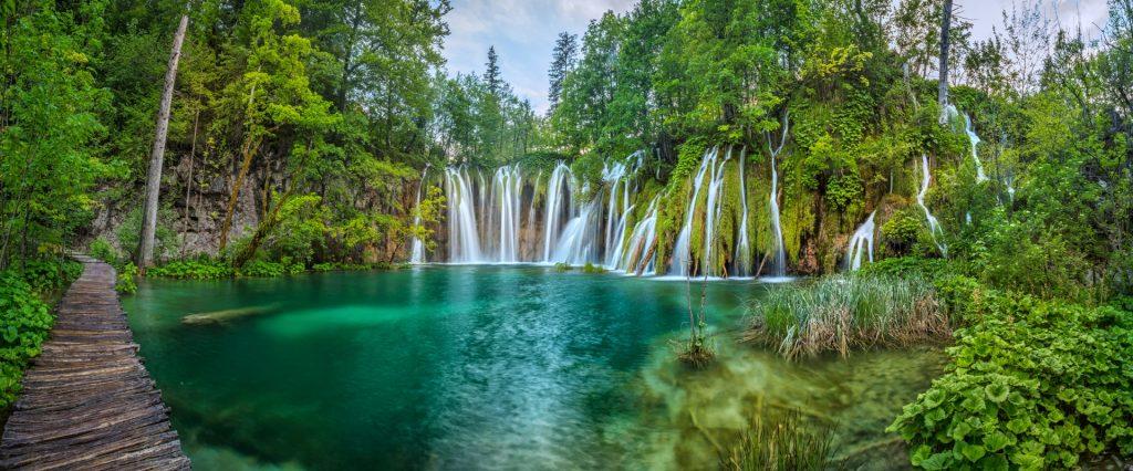 Touring Plitvice Lakes, Croatia