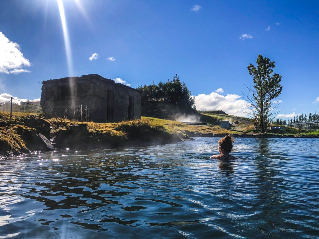 Map of the Hot Springs in Iceland Secret Lagoon