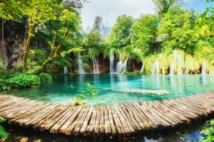 touring Croatia Plitvice Lakes