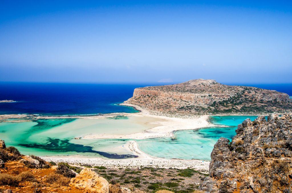 spring travel destinations Crete island, Greece.