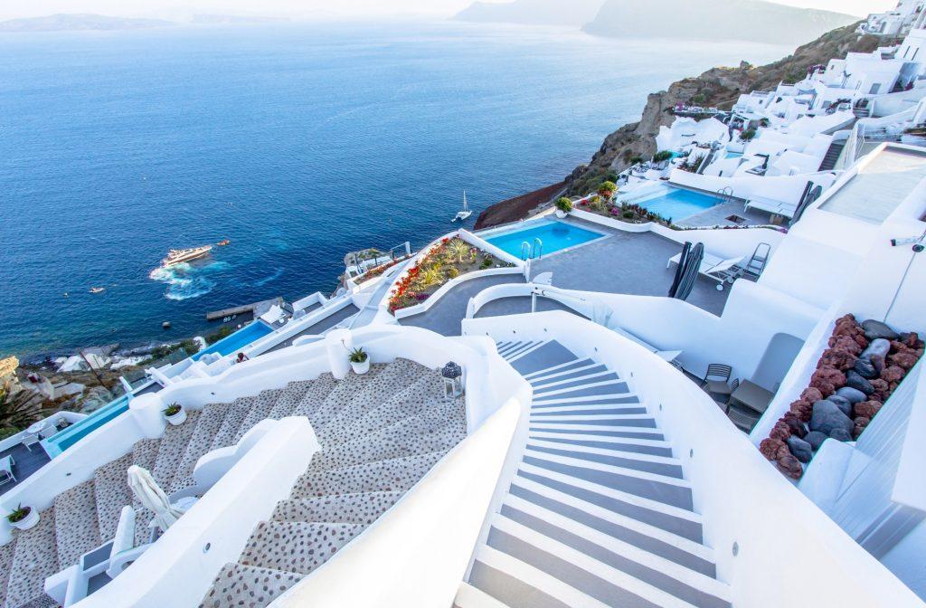 spring travel destinations Santorini, Greece