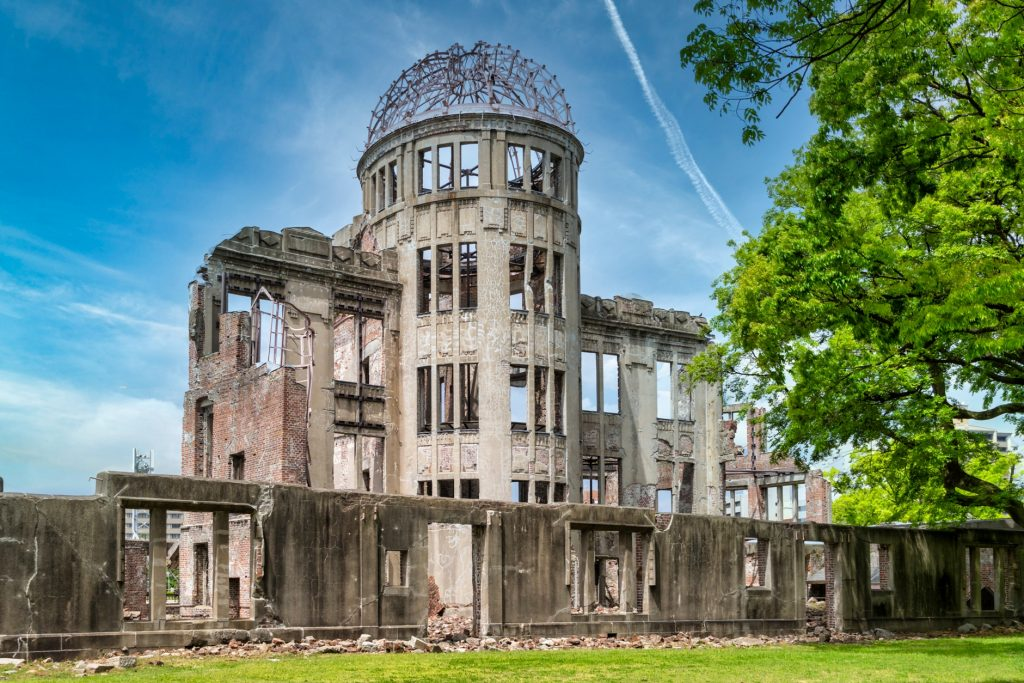 unesco sites virtual tour of Hiroshima