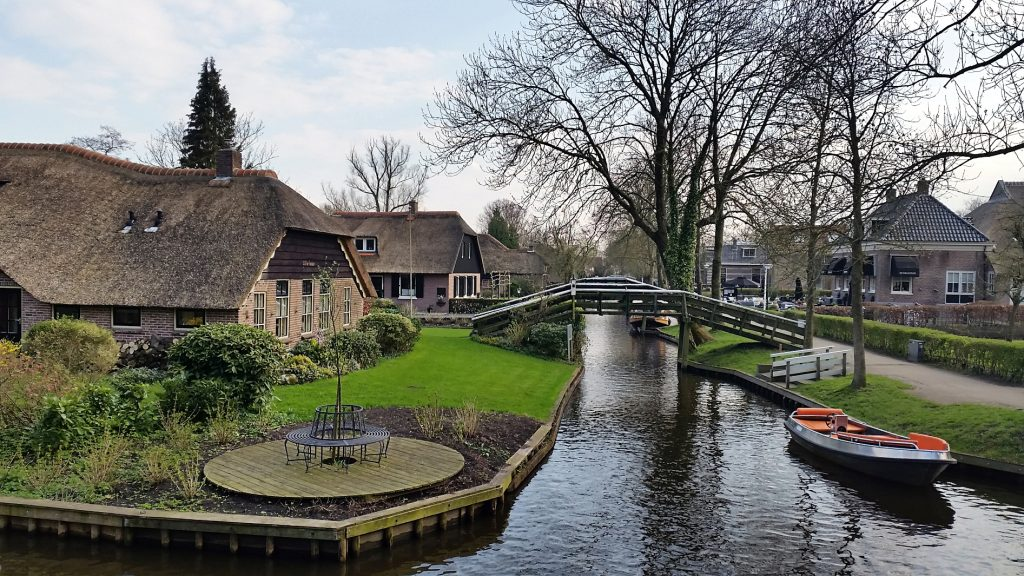 Giethoorn, Netherlands or the Venice of the Netherlands