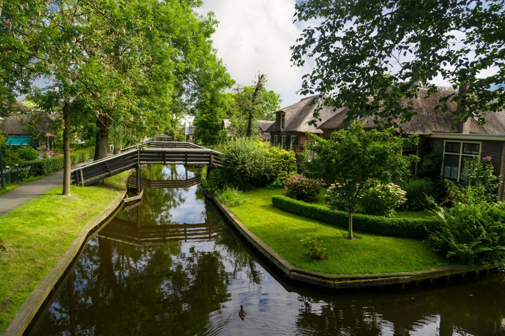 Giethoorn the Netherlands Water Village