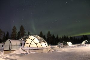 Kakslauttanen Glass Igloos in Finland