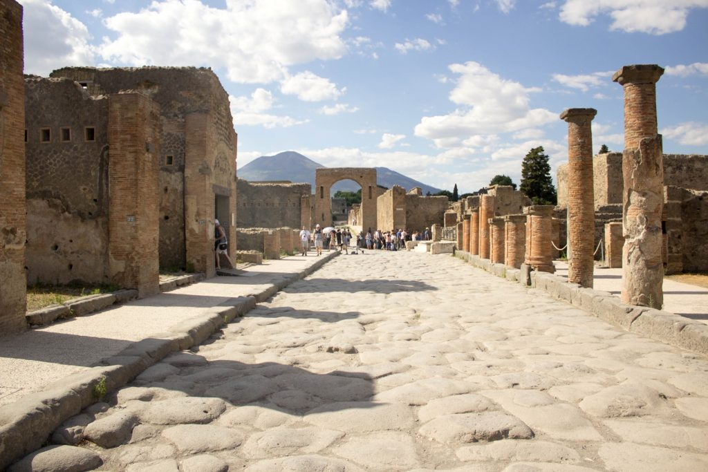 unesco sites virtual tour of Pompei