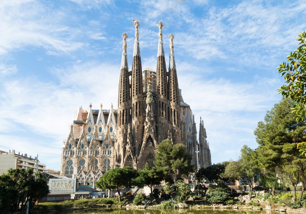 virtual tour of Sagrada Familia