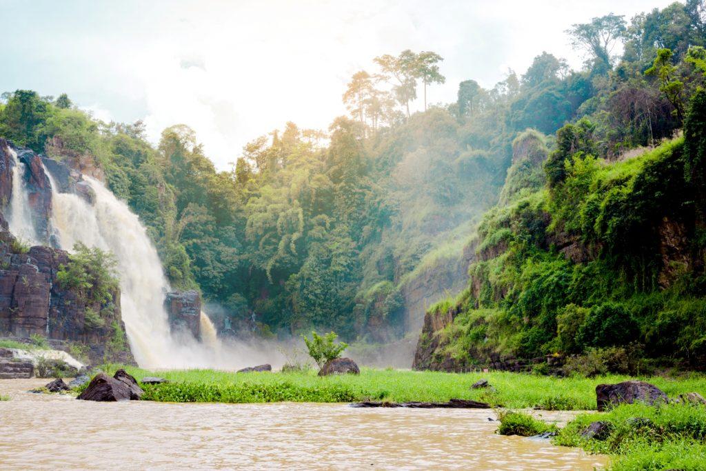 best things to do in dalat Da Lat Pongour Falls  beautiful waterfall