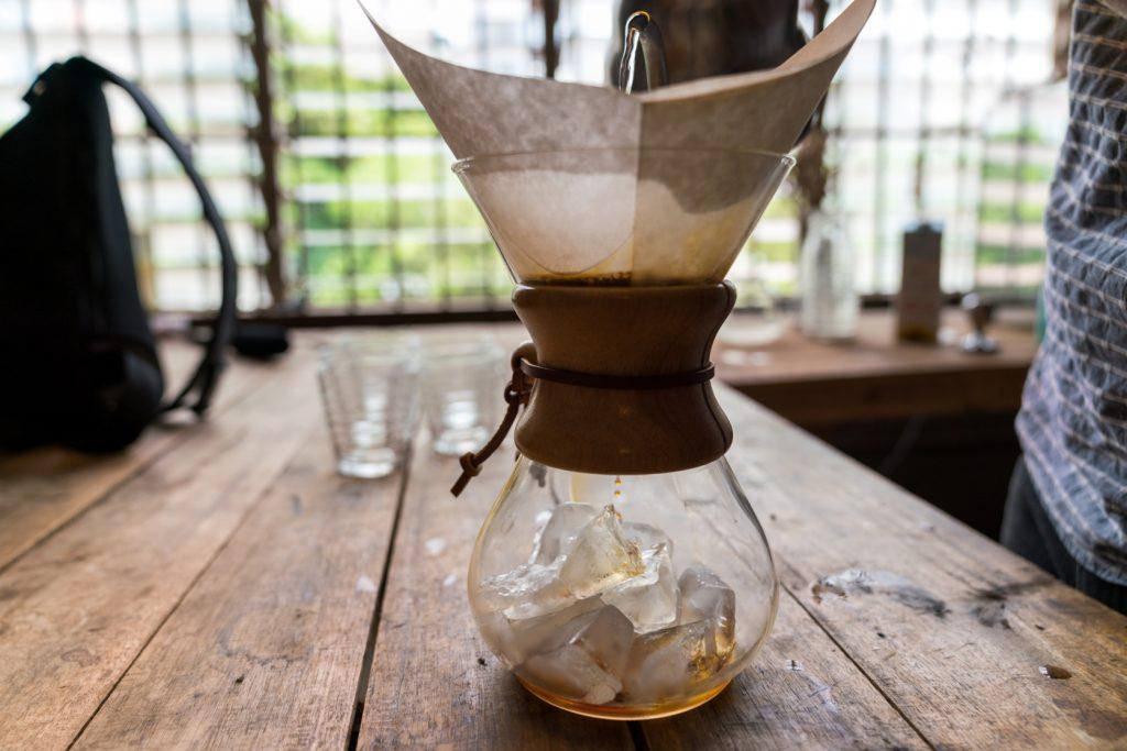 Coffee famous in Hanoi, Vietnam