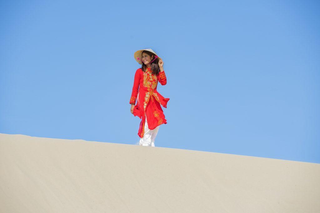 Ao Dai traditional costume Vietnam