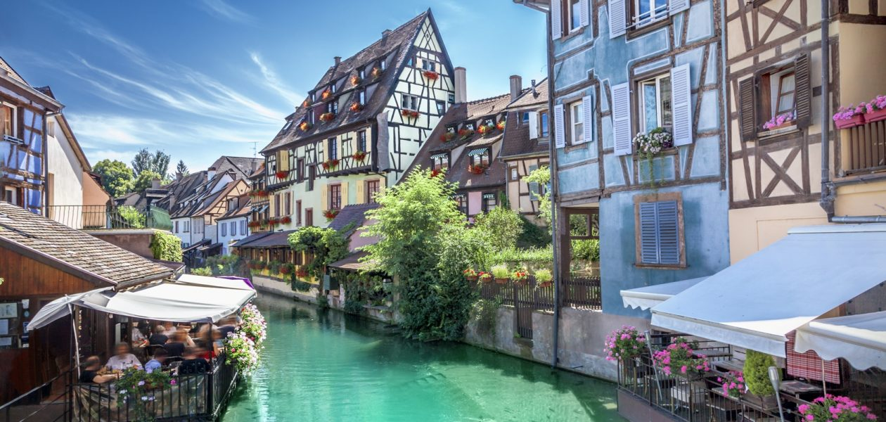 Medieval town of Colmar, France