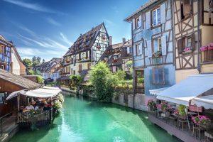 Medieval town of Colmar, France