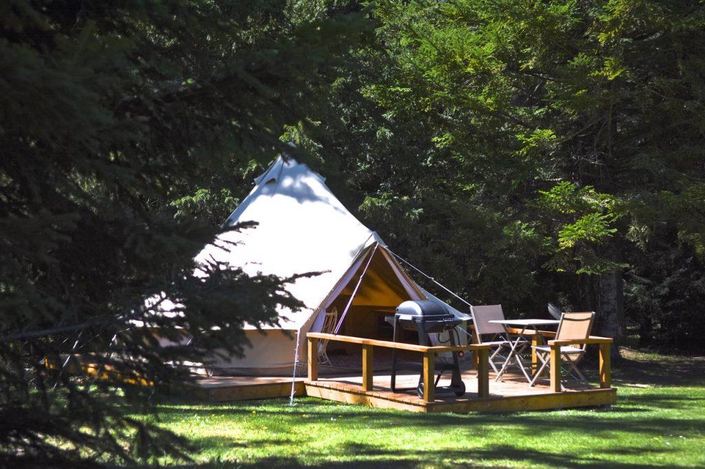 Glamping at Camping La Source