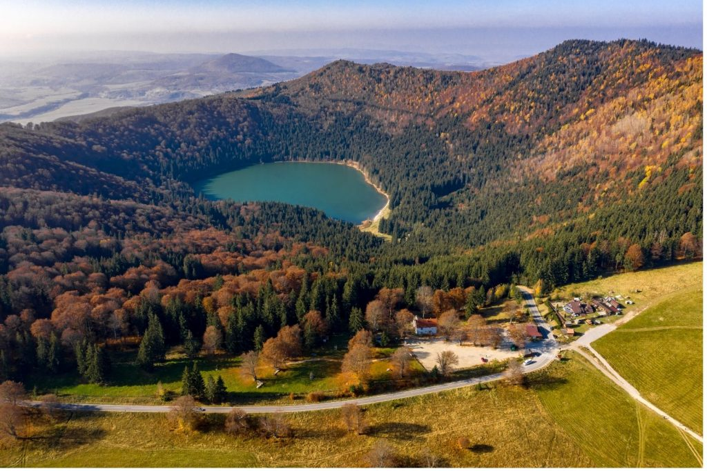 Magical places in Romania - Saint Anna Lake